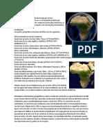 Geografía de África