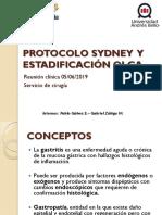 PROTOCOLO SYDNEY Y ESTADIFICACION OLGA