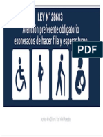 Sticker de Atención Preferencial