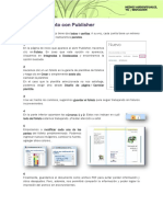 Folleto - Publisher