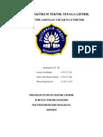 Kelompok 1 _ Laporan Praktikum TTL - Paralel Trafo Dan Beban Simetri Bintang