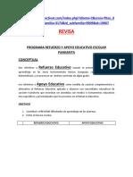 PROGRAMA REFUERZO Y APOYO EDUCATIVO ESCOLAR enviado a paty el 2012.docx