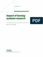 Impact of Farming Systems Research