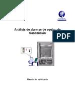 analisis de alarmas de transmision