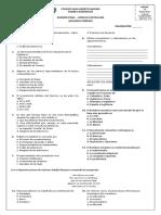 Examen Décimo - Lengua Castellana - Segundo Período - COLSAM