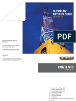 Olympian Generator Set Ratings Guide LEXE7581-03