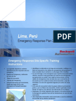 Emergency Response Plan Perú 2019