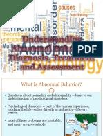 Chp 1 Overview to Understanding Abnormal Behavior 2017-18