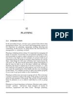Planing
