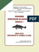Construcción Estanques pesces
