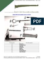 Swiss k31 Bolt Dis Assembly