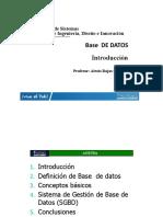 2019 05 22 Introduccion a Las Bases de Datos Relacionales