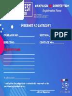 AdFest Form