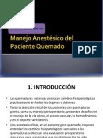 Manejo Anestésico Del Paciente Quemado