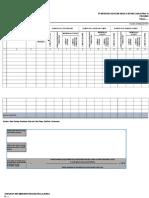 Contoh Format Pengisian Laporan