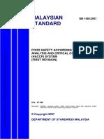 Haccp Standard Ms 1480_2007