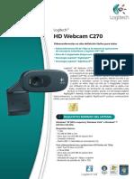 LOGITECH® HD WEBCAM C270