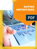 Rating Definitions