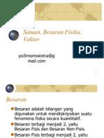 01 Satuan Besaran Fisika Vektor