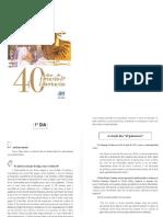 Livro 40 dias de Oração por libertação