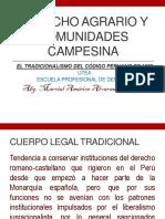 El Tradicionalismo de La Constitución 1852 Peru.