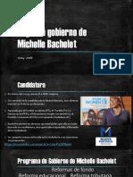 Segundo Gobierno de Michelle Bachelet