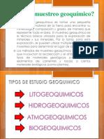 Tecnicas y Preparacion de Muestra Para Analisis Geoquimico
