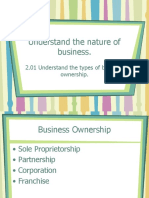 2.01 Business Ownership