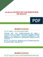 Acreditaciòn de Los Servicios de Salud Exposiciòn