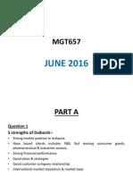 MGT657 Past Sem