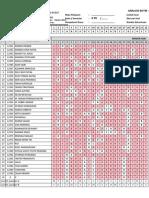 Format Analisis Soal - Objektif