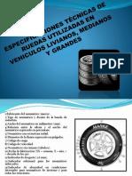 Especificaciones Tecnicas Neumaticos en Vehiculos