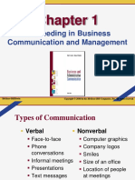 Succeeding in Business Communication and Management
