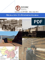 Boletín Bimestral de INVHIC 4º Migracion, Un Fenomeno Global