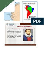 Lista de Virreyes Del Peru