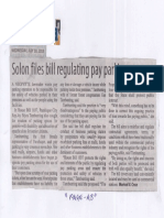 Manila Standard, July 10, 2019, Solon files regulating pay parking areas.pdf