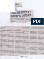 Manila Times, July 10, 2019, Lawmakers not too hot on Cayetano as Speaker.pdf