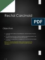 rectal carcinoid