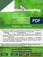 Vegetation Sampling