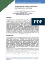 2009 Janssen SSC2009 Coords Datums Transformations in Australia