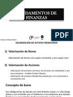Valoracion de Activos Financieros