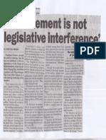 Philippine Star, July 10, 2019, Endorsement is not legislative interference.pdf