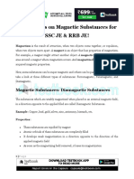 Magnetic substances