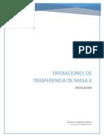 Reporte de La IMPORTANCIA de LA DESTILACION en La Ingenieria Quimica