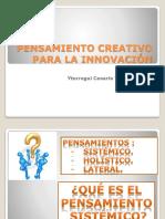 Pensamiento Creativo Para La Innovación