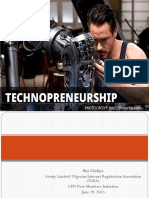 Technopreneurship Lec