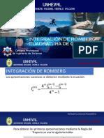 Integración de Romberg y Cuadratura de Gauss