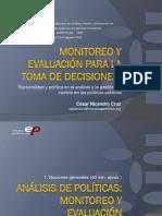 Analisis de Politicas Publicas Monitoreo
