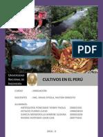 Cultivos en El Peru