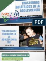 Trastornos Psiquiátricos en La Adolescencia